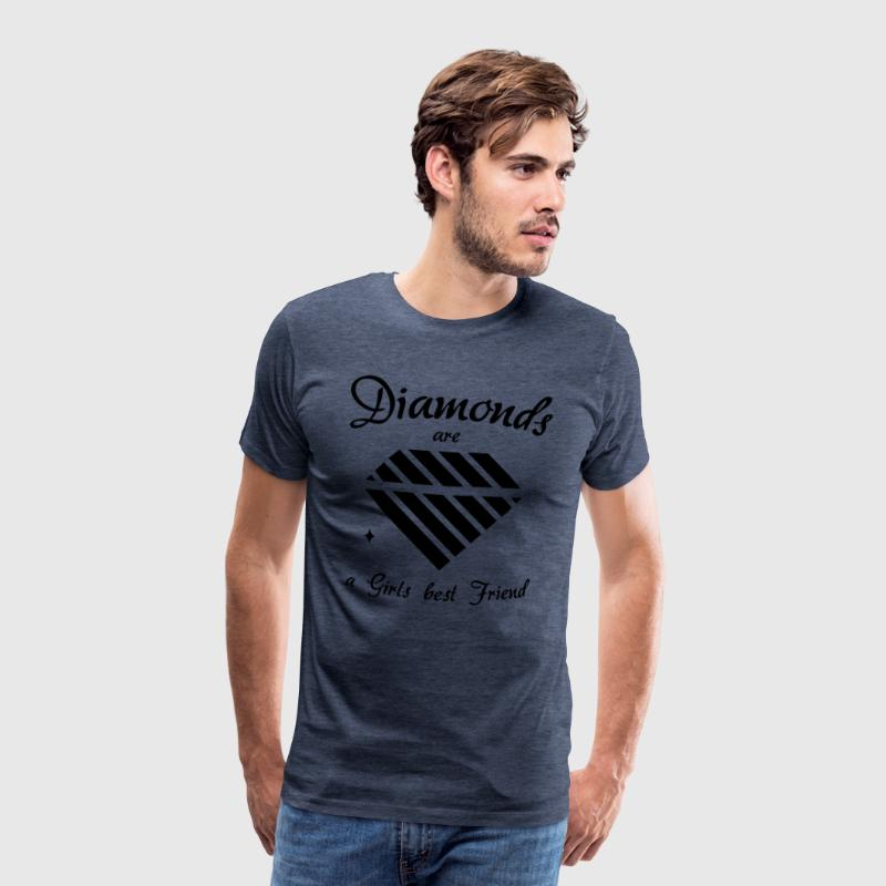 Diamonds are a Girls Best Friend - Men's Premium T-Shirt