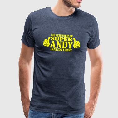 andy - T-shirt Premium Homme