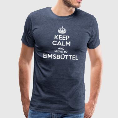Keep Calm and move to Eimsbüttel - Men's Premium T-Shirt
