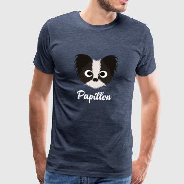 Papillon Papillon - Papillon Dog - Men's Premium T-Shirt