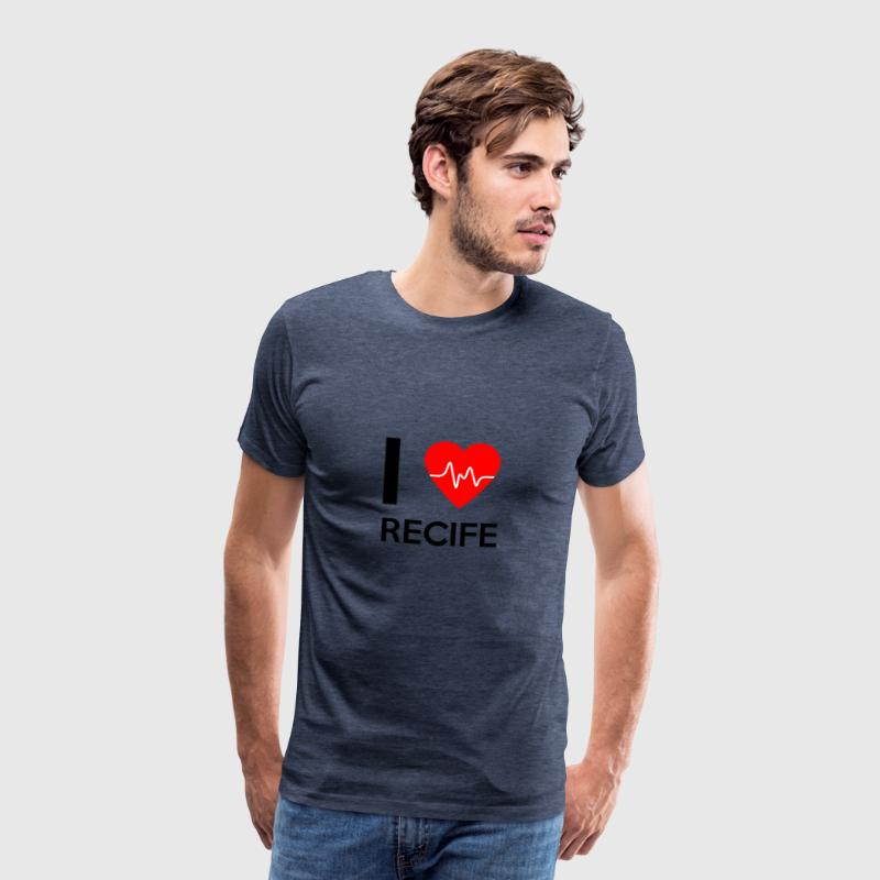 I Love Recife - I Love Recife - Men's Premium T-Shirt