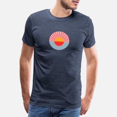 This Is Blue SUNSET ISLE OF GOOD VIBES - Camiseta premium hombre