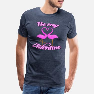 Flamant-rose Flamants roses - T-shirt Premium Homme