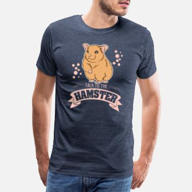 Heads Talk To The Hamster - Men's Premium T-Shirt