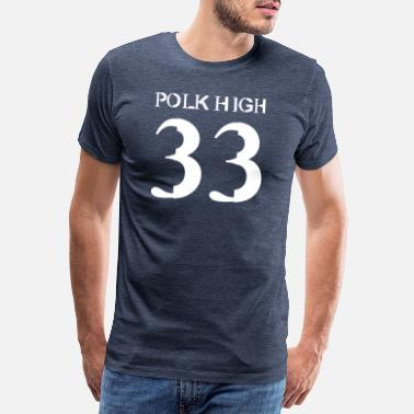 Swagg Polk High 33 - Men's Premium T-Shirt