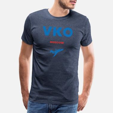 Siberia VKO Moscow Russia Russian gift saying - Men's Premium T-Shirt