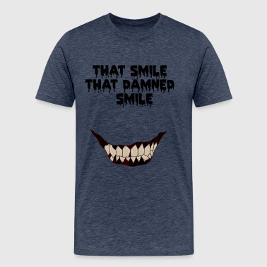 13 reasons why horror smile - Men's Premium T-Shirt