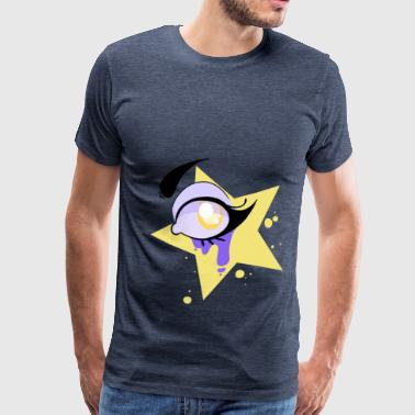 Yellow eye - Men's Premium T-Shirt