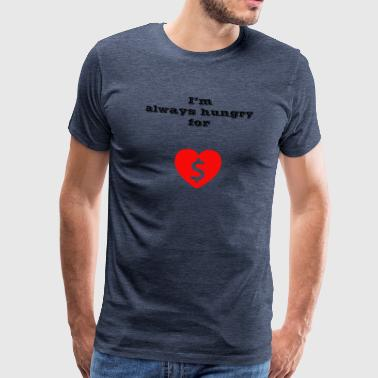 Money or Love - Men's Premium T-Shirt