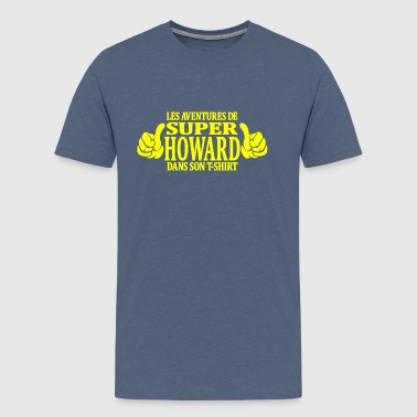 howard - T-shirt Premium Homme