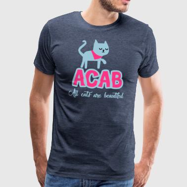Alle Cats Are Beautiful - Mannen Premium T-shirt