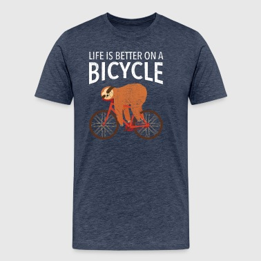 Life Is Better On A Bicycle - Men's Premium T-Shirt