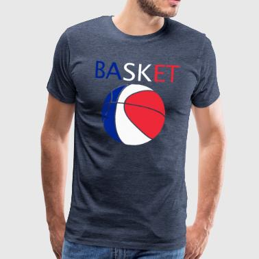 Basketball - Herre premium T-shirt