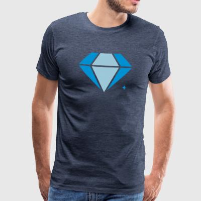 diamanter - Herre premium T-shirt