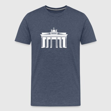 Brandenburger Tor - Premium T-skjorte for menn