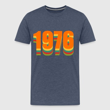 1976 rainbow - Men's Premium T-Shirt
