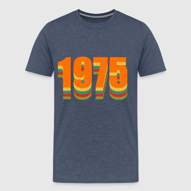 1975 rainbow - Men's Premium T-Shirt
