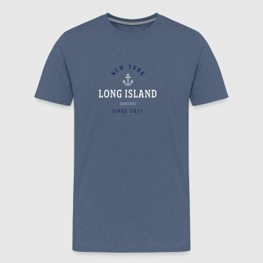 NEW YORK - LONG ISLAND - Men's Premium T-Shirt