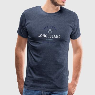NEW YORK - LONG ISLAND - Männer Premium T-Shirt
