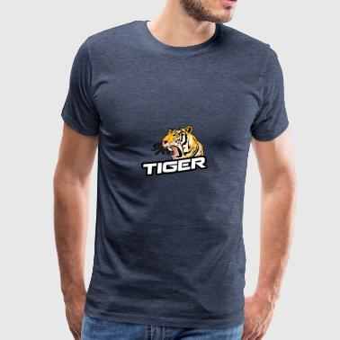 Asian Tiger - Premium T-skjorte for menn