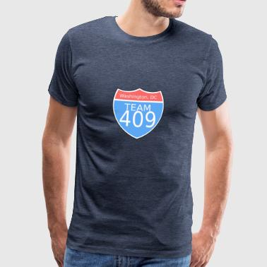 Washington DC - Premium-T-shirt herr