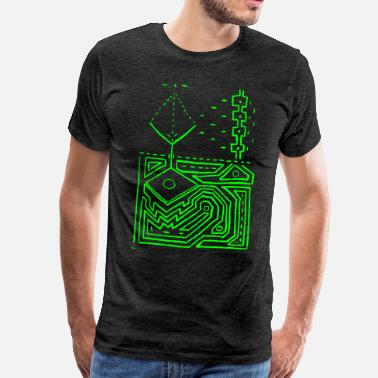 Dmt PowerLines 1 - Men's Premium T-Shirt
