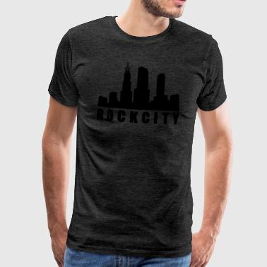 rock city - Mannen Premium T-shirt