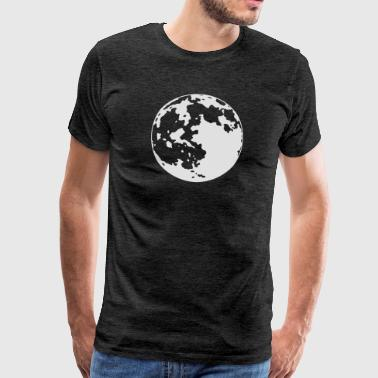 Moon - Darker Background Edition - Männer Premium T-Shirt