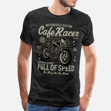 Cafe Mens - Cafe Racer - Men's Premium T-Shirt