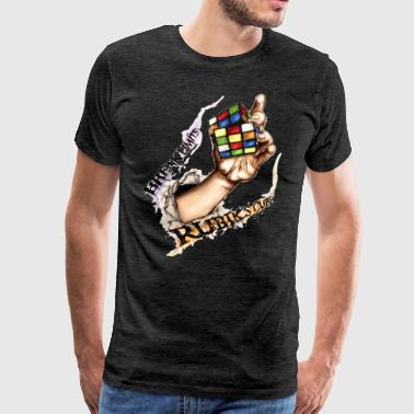 Rubik's Break Limits - Men's Premium T-Shirt