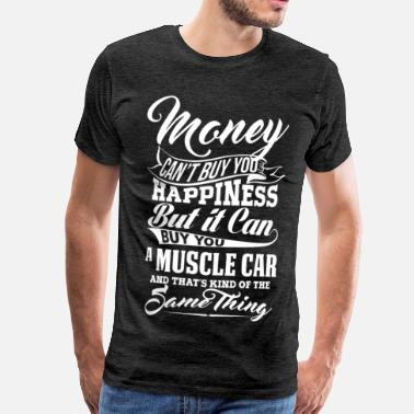 Dodge MONEY AND MUSCLE CAR W - Men's Premium T-Shirt