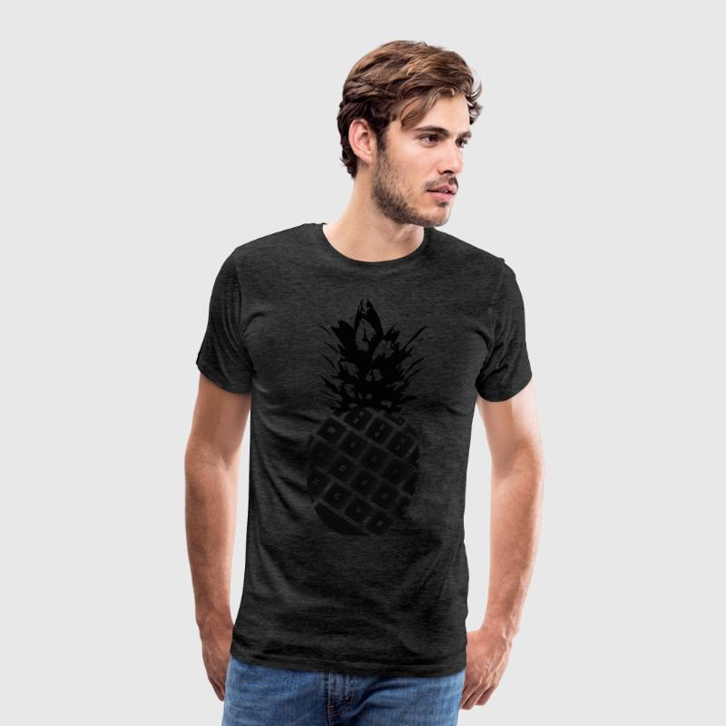 keyboard pineapple - Men's Premium T-Shirt