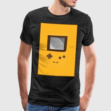 Game Boy Nostalgia - Laurids B Design - T-shirt Premium Homme