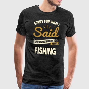 Fishing - Men's Premium T-Shirt