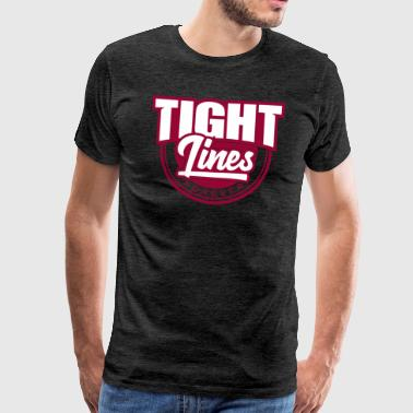 Tight Lines - Männer Premium T-Shirt