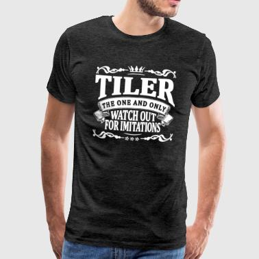 tiler the one and only - Men's Premium T-Shirt