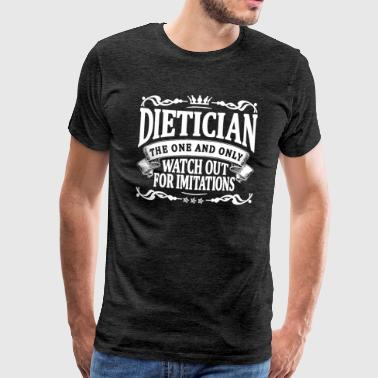 dietician the one and only - Men's Premium T-Shirt