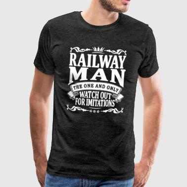 railway man the one and only - Men's Premium T-Shirt