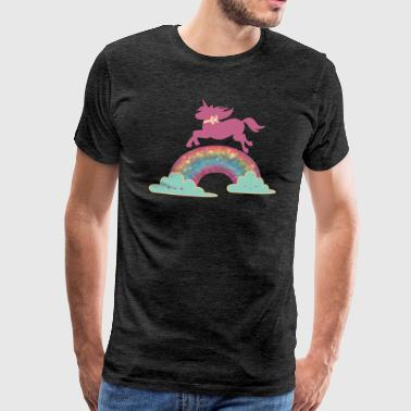 magical unicorn - Men's Premium T-Shirt
