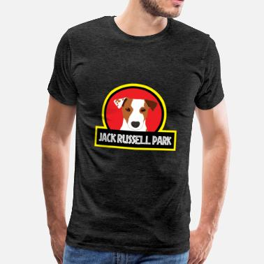 Russel Chien / Jack Russell Jack Russell Parc - T-shirt Premium Homme
