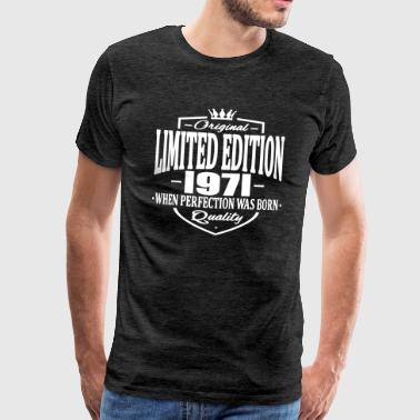 Limited edition 1971 - Mannen Premium T-shirt