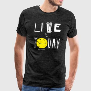 SmileyWorld Profite Du Moment Live For Today - T-shirt Premium Homme