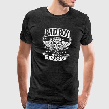 Bad boy since 1987 - T-shirt Premium Homme