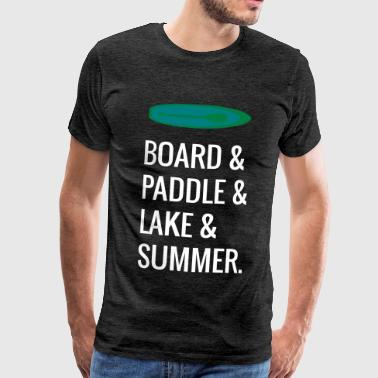 Stand Up Paddle Paddle - T-shirt Premium Homme