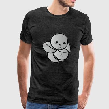 Balloon Dance - Mannen Premium T-shirt