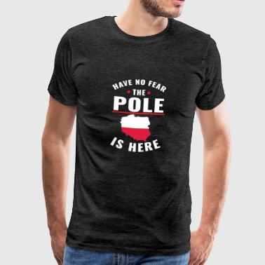 Have no fear the pole is here - Männer Premium T-Shirt