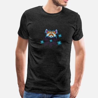 Raccoon Raccoon - Männer Premium T-Shirt