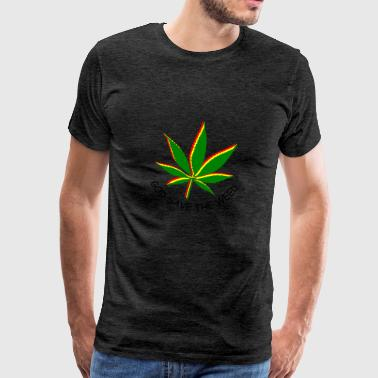 god save the weed - Men's Premium T-Shirt