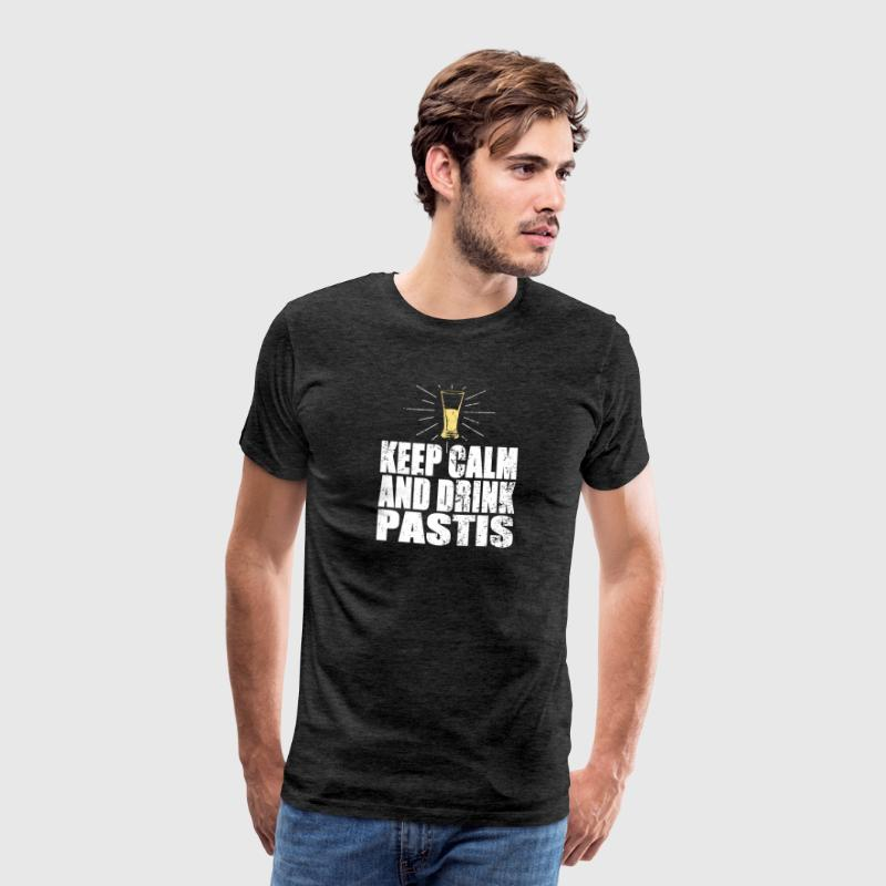 Keep Calm And Drink Pastis - T-shirt Premium Homme