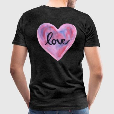pastel love - Men's Premium T-Shirt